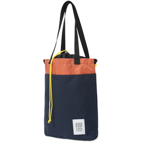 Topo Designs Cinch Tote Lukku, navy/coral